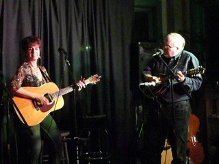 Mike Delaney with Patti DeRosa at Catbird Coffeehouse