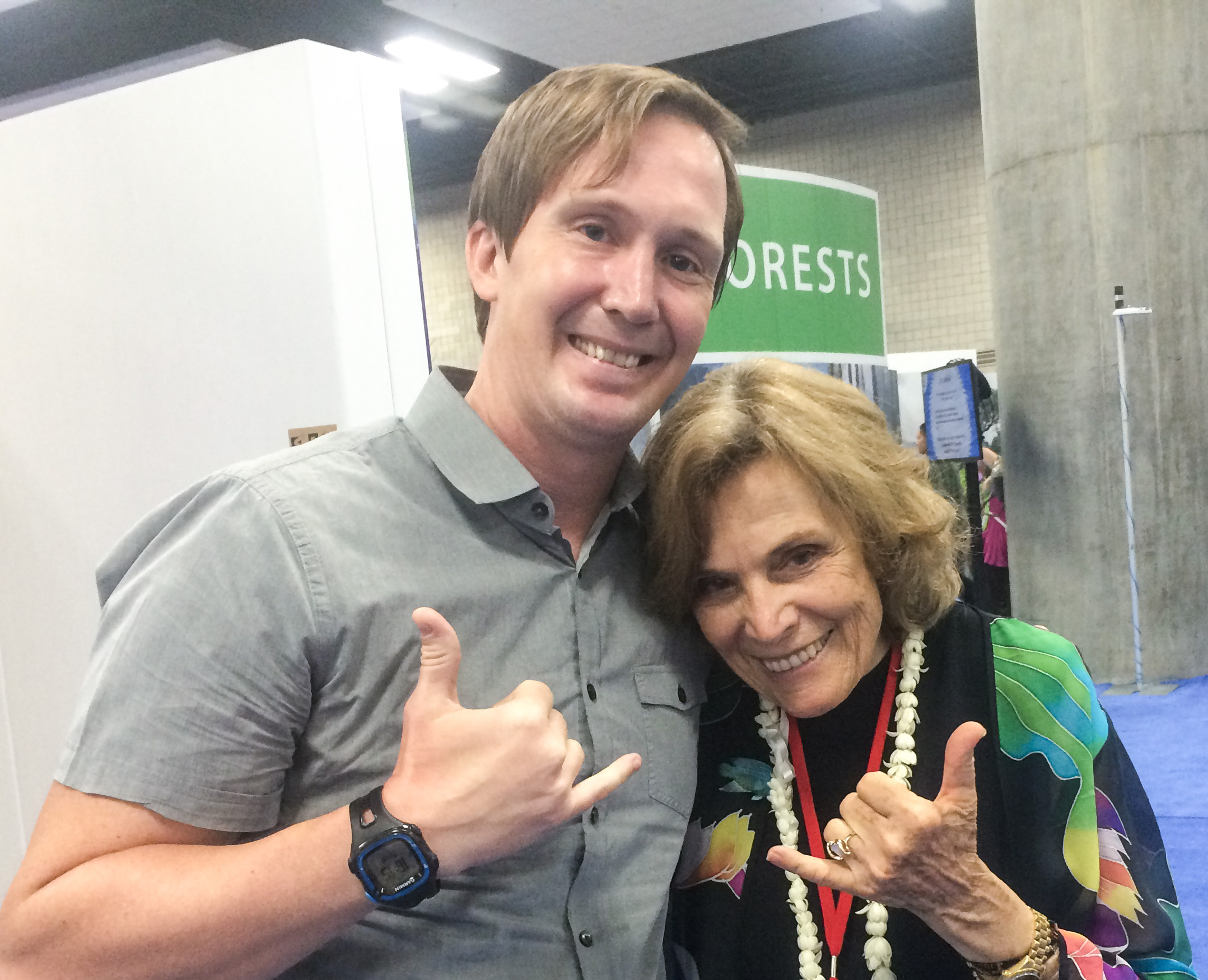 Dave and Sylvia Earle